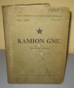 KAMION GMC knjiga 1 opis , rukovanje i održavanje