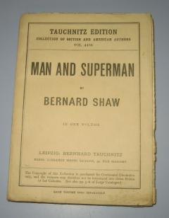 MAN AND SUPERMAN , by Bernard Shaw