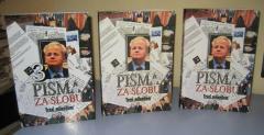 PISMA ZA SLOBU 1 - 3 , urednik Dragan Hadži Antić