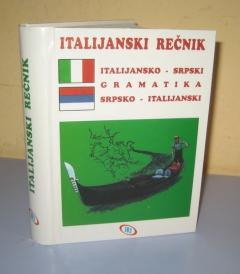 ITALIJANSKI REČNIK italijansko srpski srpsko italijanski sa gramatikom