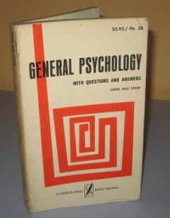 GENERAL PSYCHOLOGY with questions and answers
