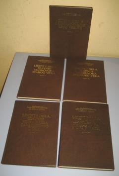 LIKOVI I DELA SLAVNIH VOJSKOVOĐA SVETA komplet 5 knjiga