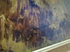 N.Djatschenko ulje na dasci ukrajinski slikar potpisana