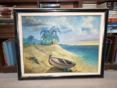 Prelepa slika ulje na platnu 1999 Danilli