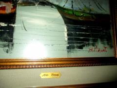 ALDO PIRONTI ulje na platnu izuzetna slika