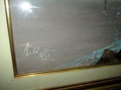 A. Botta impozantna slika ulje na platnu