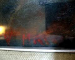 Impozantna slika ulje na platnu OGROMNA