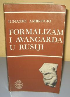 FORMALIZAM I AVANGARDA U RUSIJI